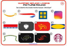 Warped & Stripped back Logos