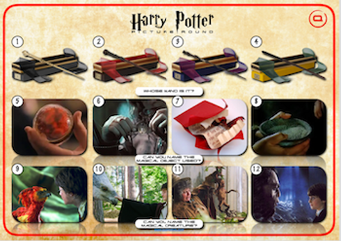 Harry Potter Picture Round 3