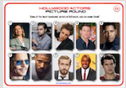 Celebrities - 'Handsome men'