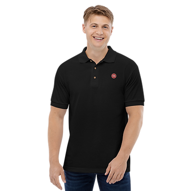 Embroidered 'Q' Polo Shirt