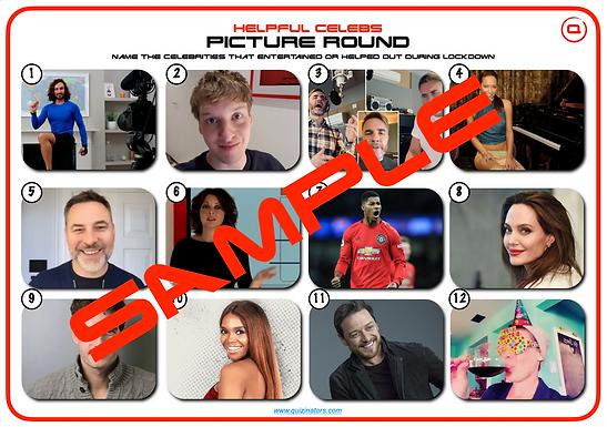 Helpful Lockdown Celebrities