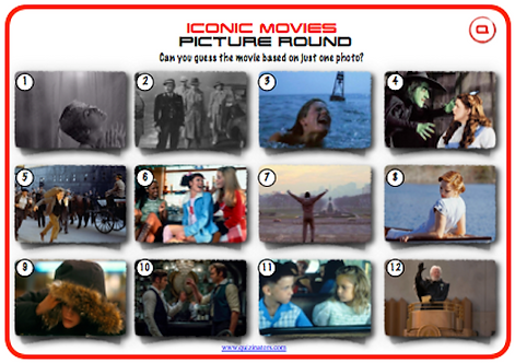 Iconic Movie Scenes Picture Round