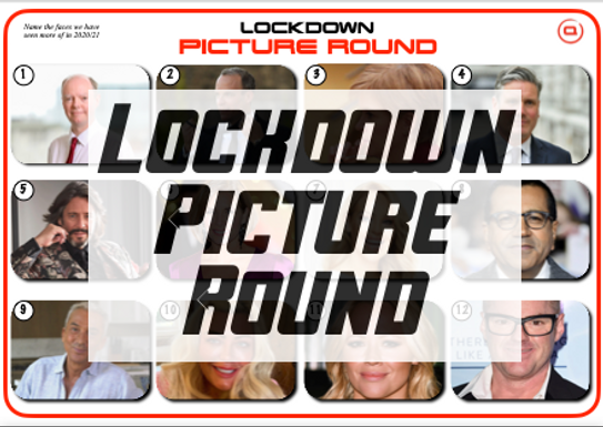 Lockdown Picture Round 2