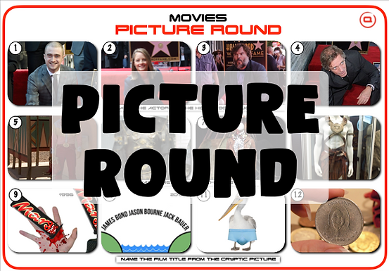 At the Movies Mixed Picture Round