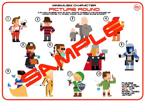 Minimalist Characters: Movies, games, TV & More