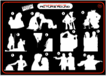 Movie Silhouettes Picture Round