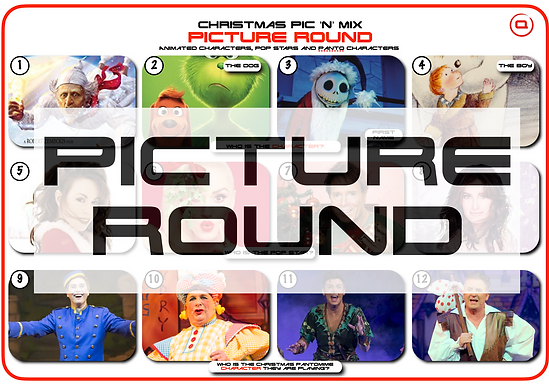 Christmas Picture Round Mix 2