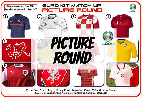 Euro 2020 Football Kits Picture Round
