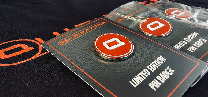 Enamel Pin Badges x3