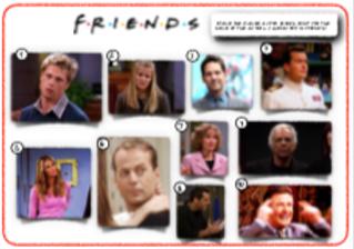 'Friends' picture round