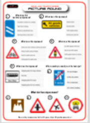 Road and Traffic Signs Picture Round