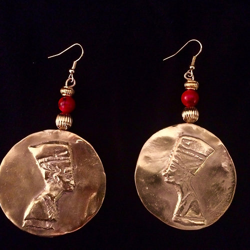 earrings l ancient egypt egyptian