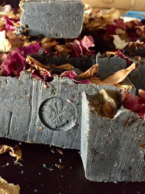 Frasca Blend: Charcoal & Rose: Soap Of Pasargadae