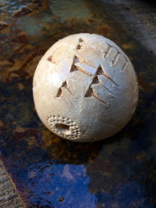 Ancient SUMERIAN EMUQKHA: MAGICKAL Clay Ball For Healing, Prayer & Rituals