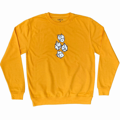 1412 All in Crew Neck Gold