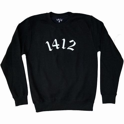 1412 Crew Neck Black