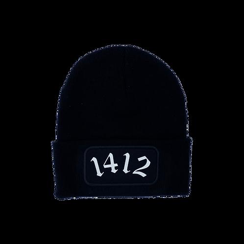 1412 - Beanie Black