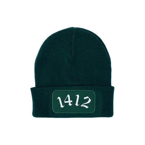 1412 - Beanie Bottle green