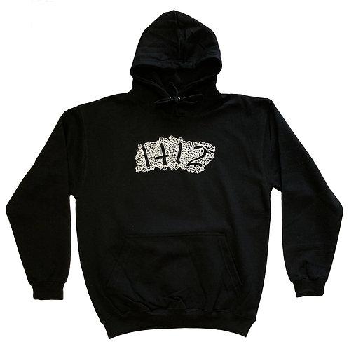 1412 Hoodie Skulls black