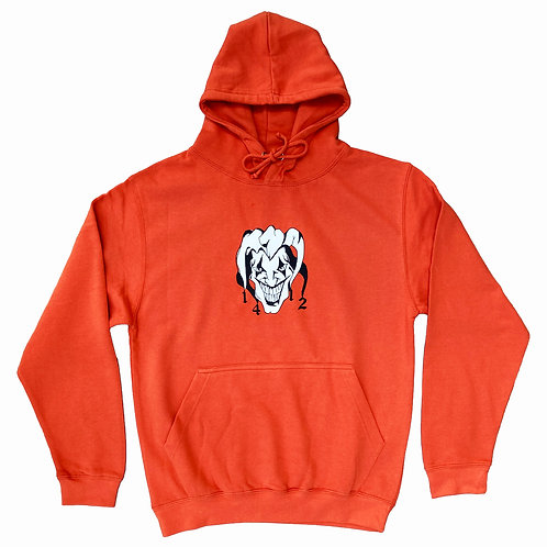 1412 Jester Hoodie Burnt orange