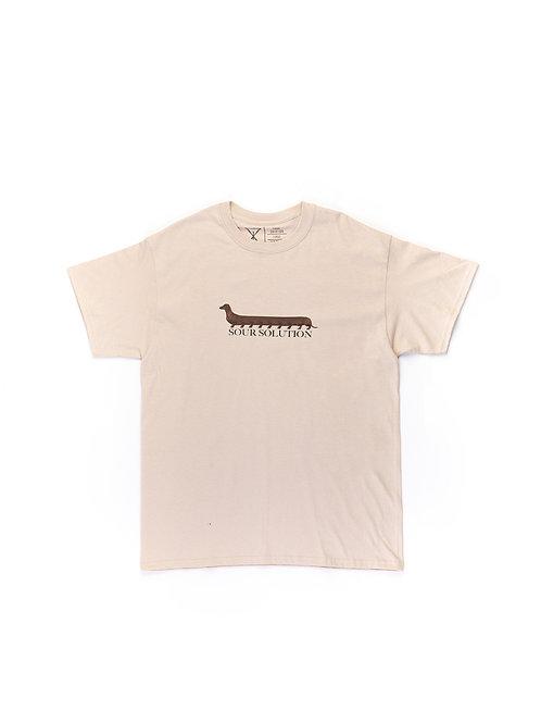 Sour Centihund t-shirt Sand