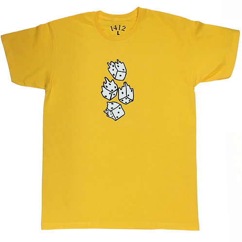 1412 All in T-shirt Yellow