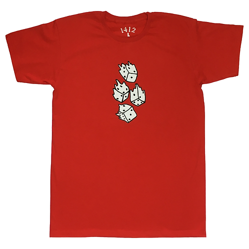 1412 All in T-shirt Red