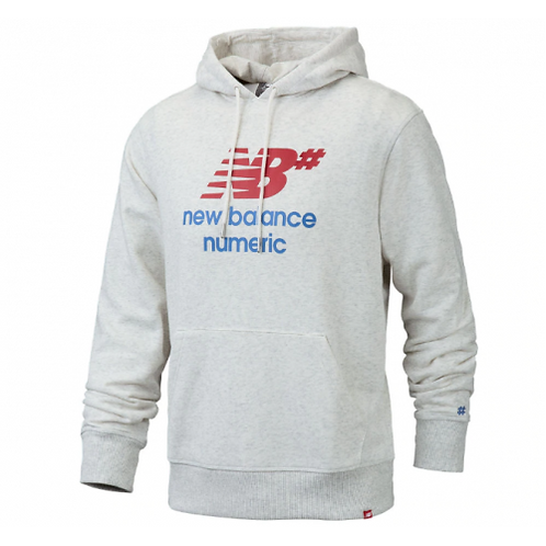 NB numeric logo stacked hoodie