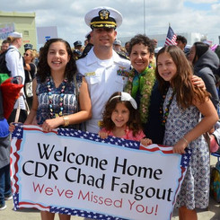 Welcome home Chad