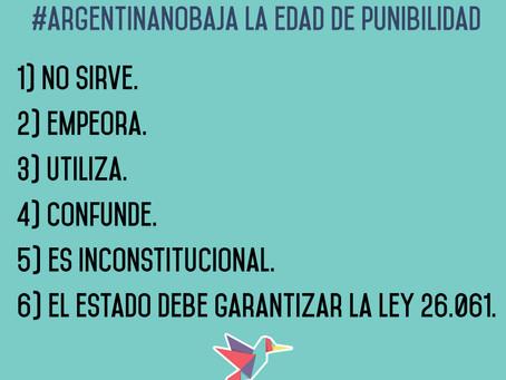 Fundación Juanito adhiere a ArgNoBaja