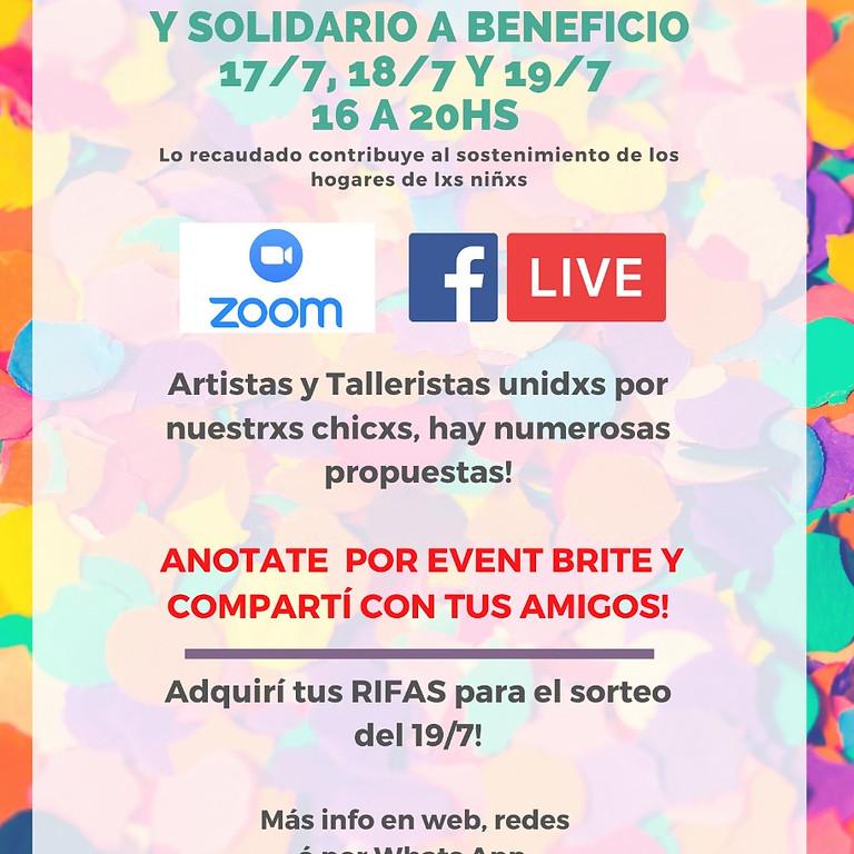 ¡Festival Comunitario y Solidario!