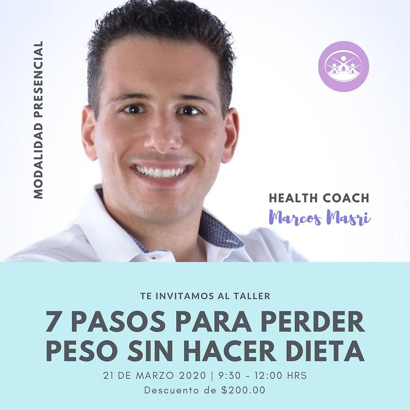 """7 pasos para perder peso sin hacer dieta"""