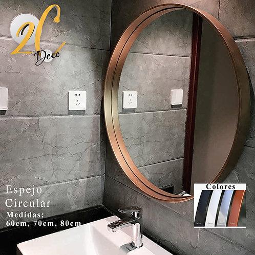 Espejo Circular Cobre 50cm
