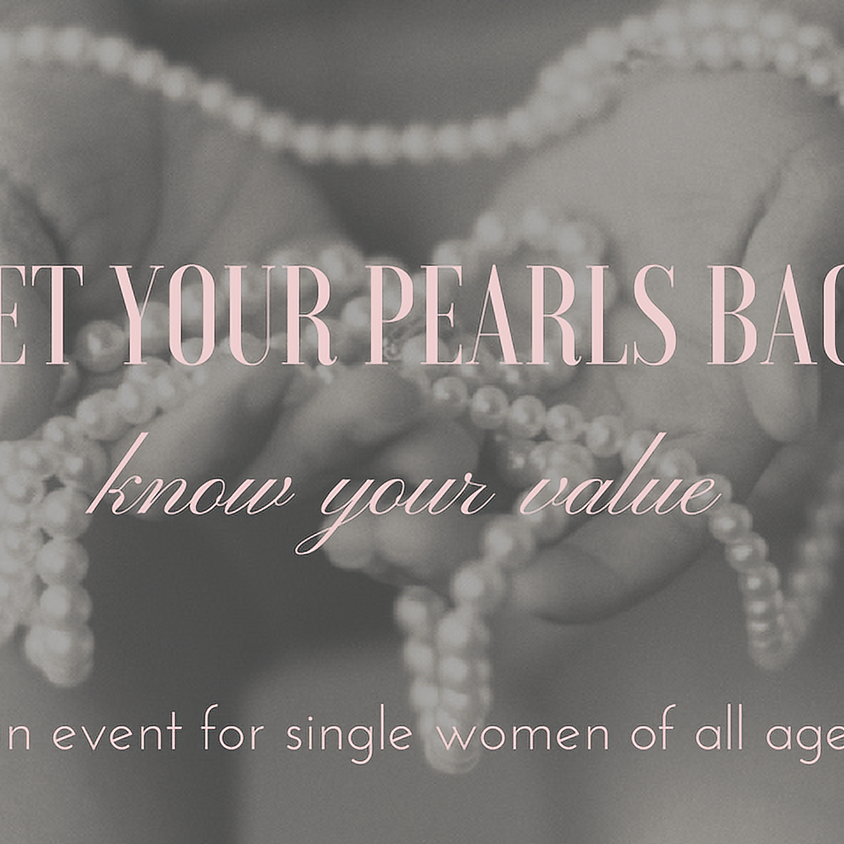 Get Your Pearls Back
