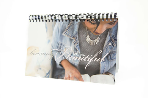 Becoming More Beautiful Notebook