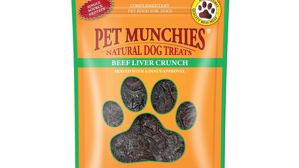 Beef Liver Crunch - Pet Munchies - 90g