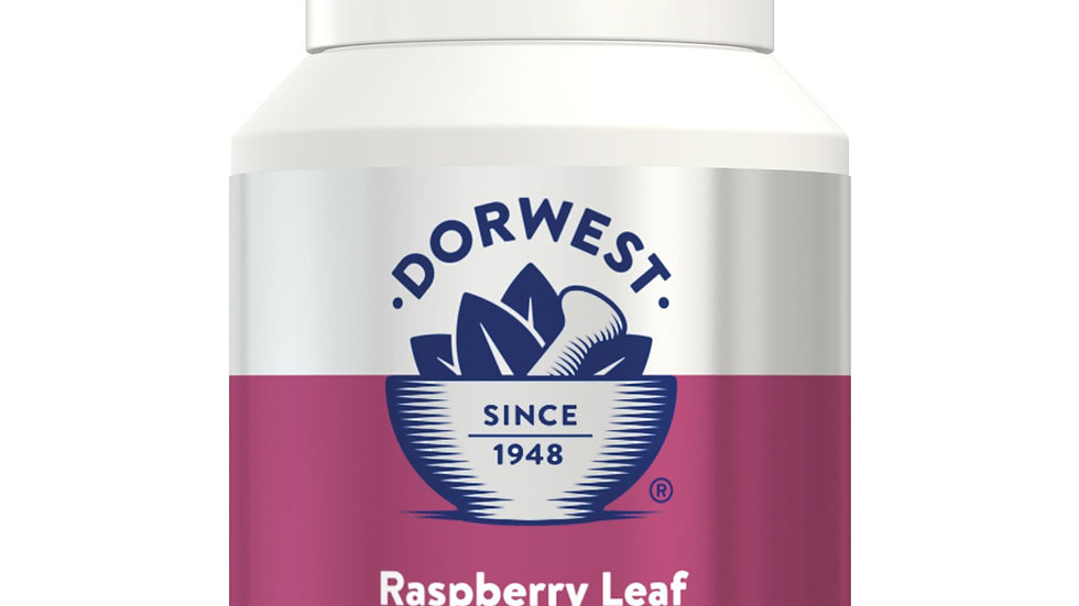 Raspberry Leaf Tablets For Dogs And Cats - 200 Tablets  - Dorwest Herbs