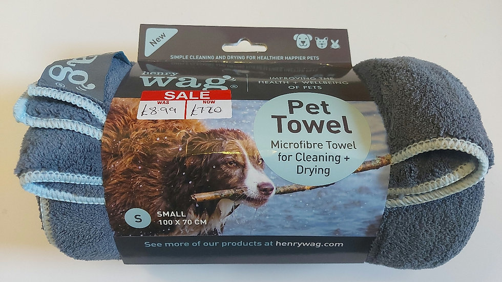 Sale Item - Henry Wag - Pet Towel Small