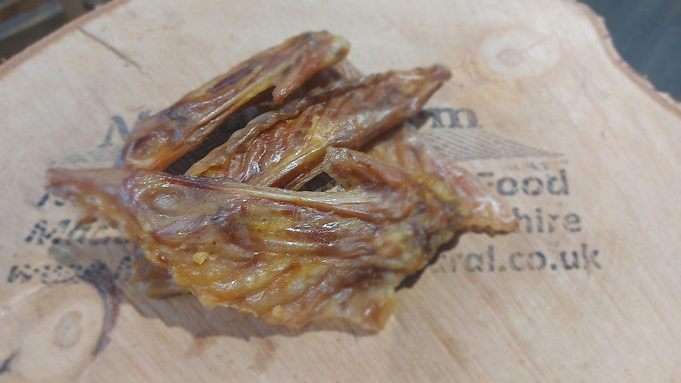 Air dried turkey wings, 250g - Meadow Farm