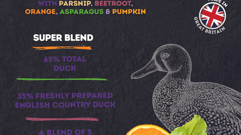 English Country Duck Super Blend Grain Free