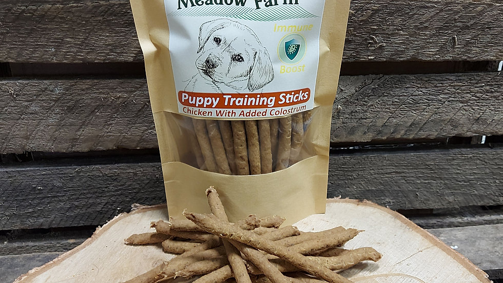 Puppy Training Treats 200g with added Colostrum