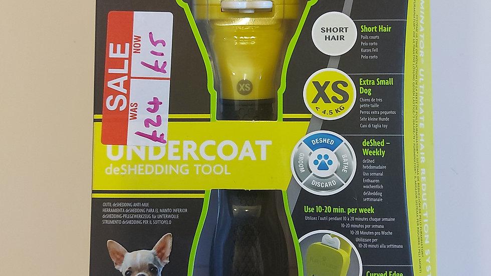 Sale Item - Furminator- Short Hair - Extra Small - Undercoat