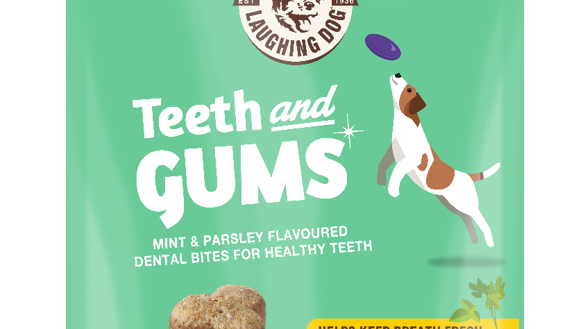 Laughing Dog - Teeth & Gums