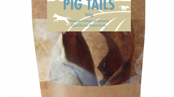 Natural Pig Tails 120g - Hollings