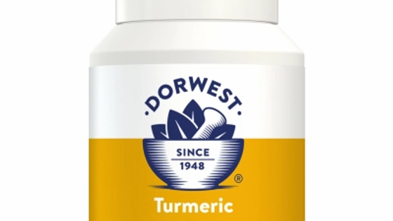 Turmeric Tablets For Dogs And Cats - Dorwest Herbs