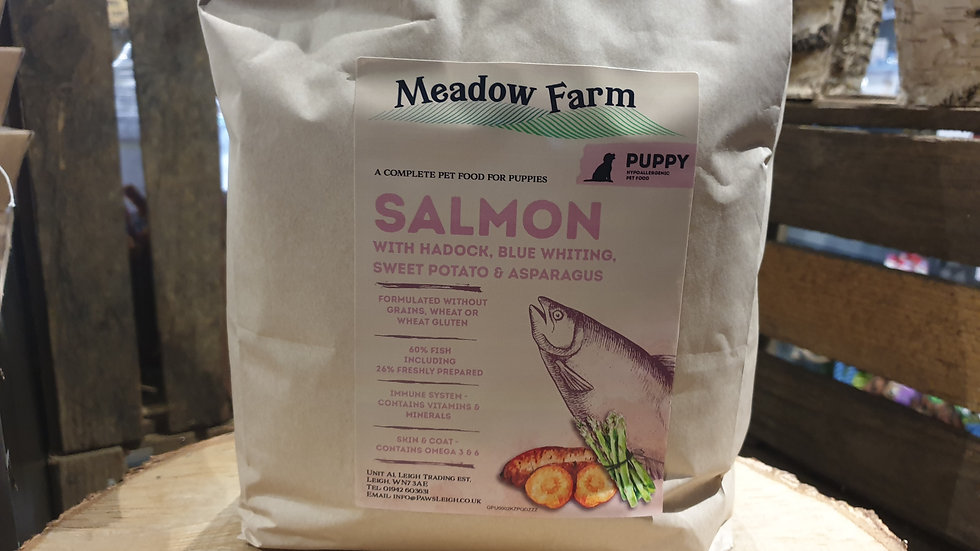 Grain Free Salmon Working Puppy Complete Dog Food