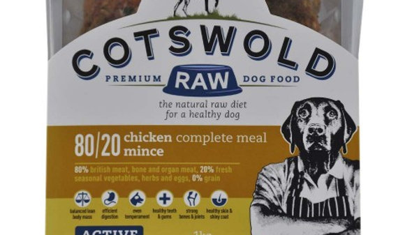Cotswold Raw - CHICKEN MINCE - 80/20 ACTIVE - 1KG