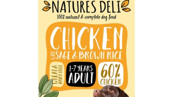 Natures Deli Wet Dog Food 400g