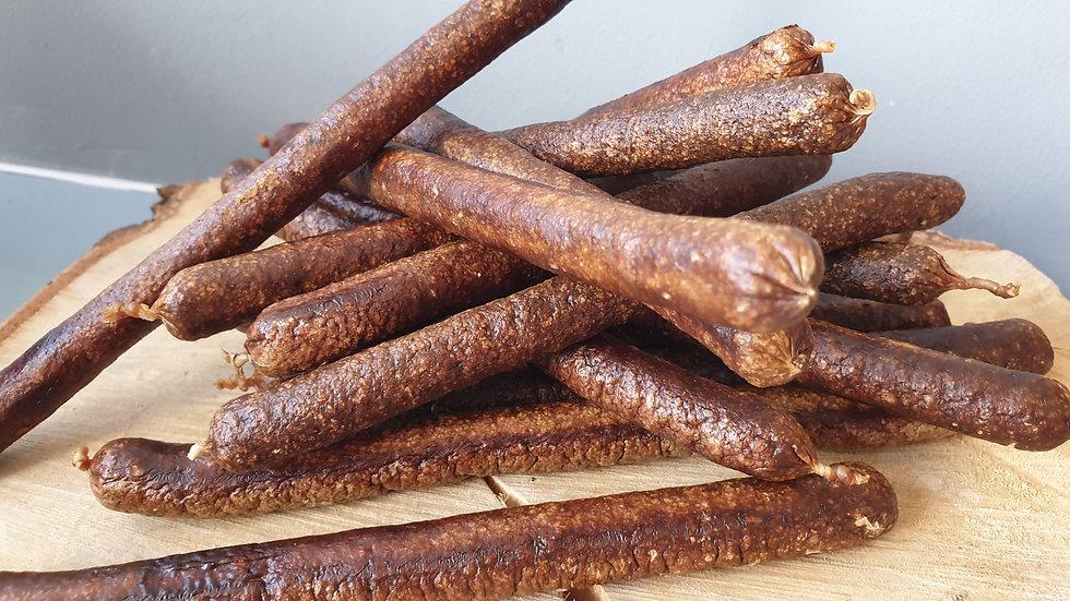 Deli Jumbo Sausage 1kg l, Meadow Farm