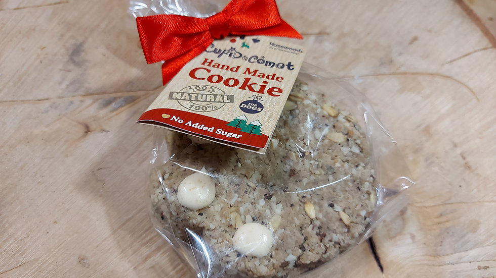 Christmas Cookie For Dogs - Cupid & Comet